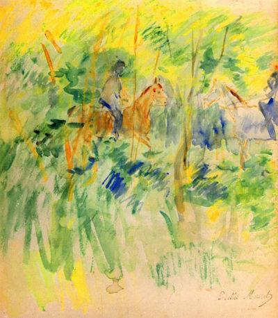 Berthe Morisot Path in Bois de Boulogne