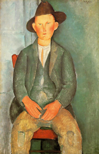 Amedeo Clemente Modigliani Peasant boy