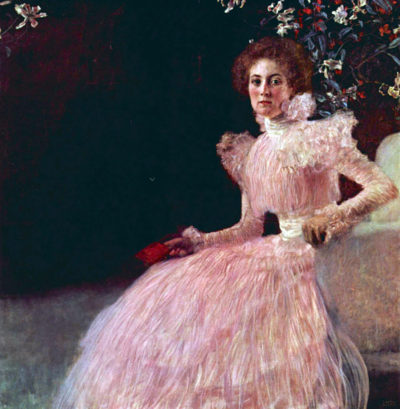 Gustav Klimt Picture of Sonja Knips