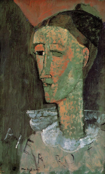 Amedeo Clemente Modigliani Pierrot
