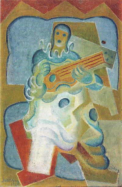 Juan Gris Pierrot