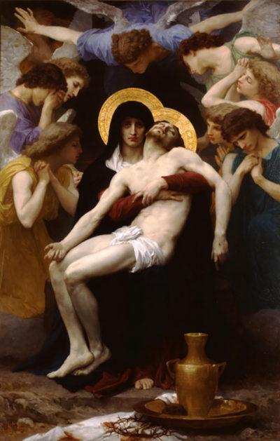 William-Adolphe Bouguereau Pieta