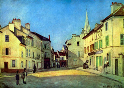 Alfred Sisley Place at Argenteuil