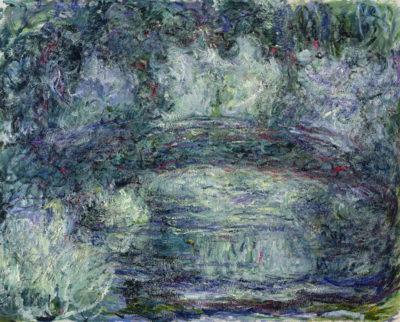 Claude Monet Pont Japonais Japanilainen silta