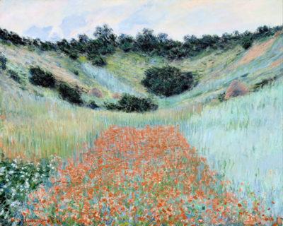 Claude Monet Poppy field near Giverny