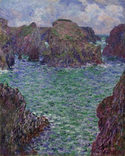 Claude Monet Port-Goulphar