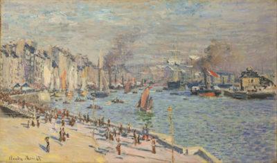 Claude Monet Port of Le Havre