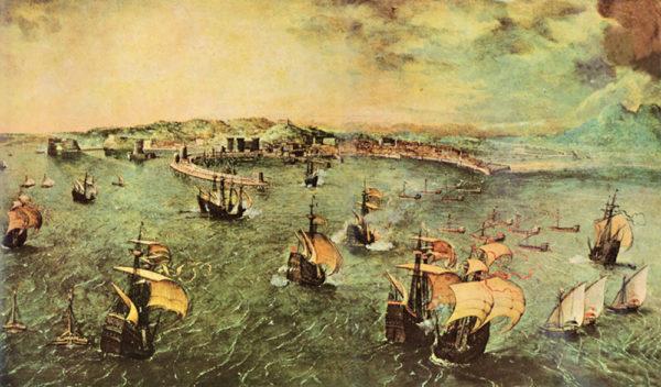 Pieter Bruegel Port of Naples