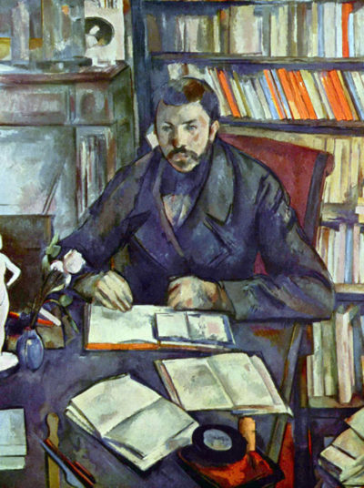 Paul Cézanne Portait of Gustave Geffroy