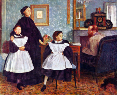 Edgar Degas Portait of the Bellelli family