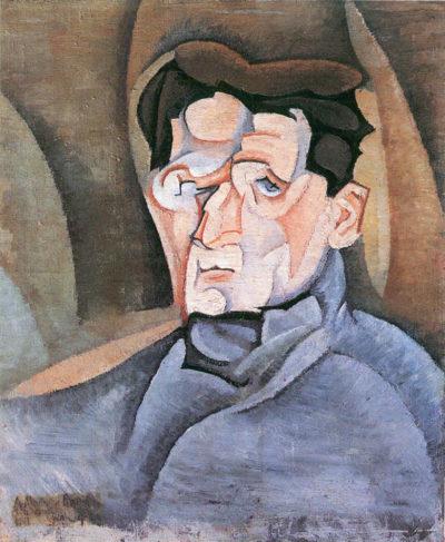 Juan Gris Portrait Maurice Raynal