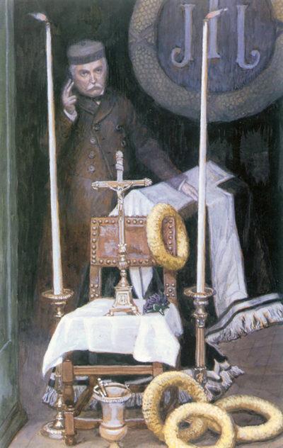 James Tissot Portrait Of The Pilgrim