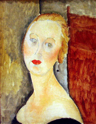 Amedeo Clemente Modigliani Portrait de Germaine Survage