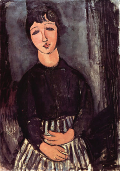 Amedeo Clemente Modigliani Portrait of Abigail
