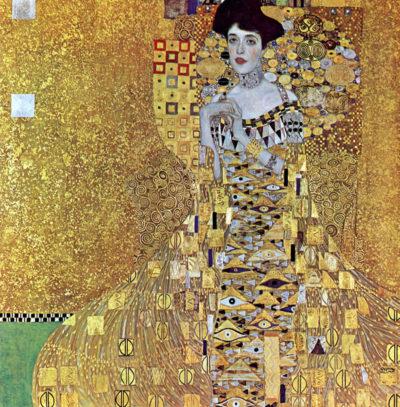 Gustav Klimt Portrait of Adele Bloch-Bauer I