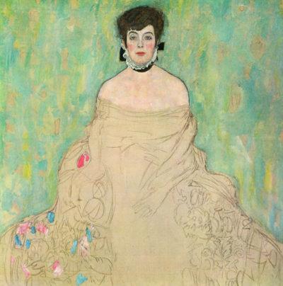 Gustav Klimt Portrait of Amalie Zuckerkandl