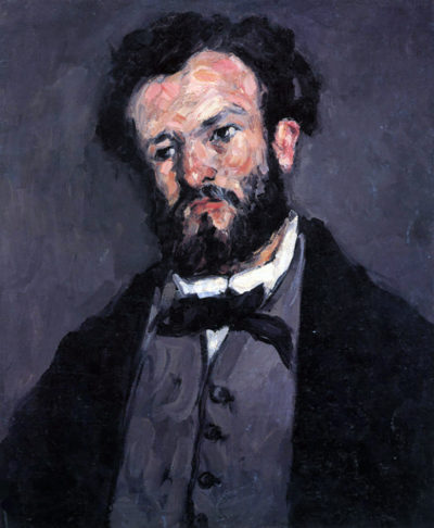 Paul Cézanne Portrait of Antony Valabrägue
