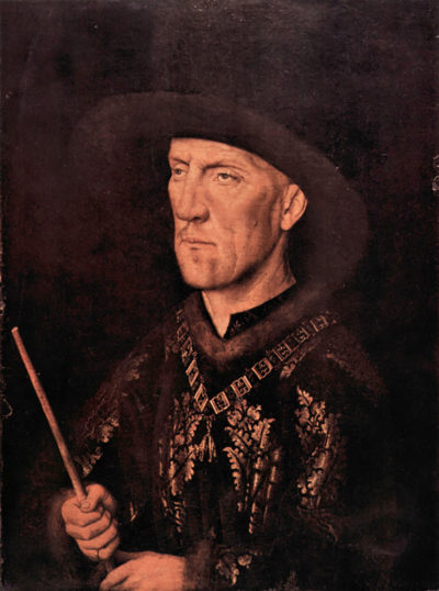 Jan van Eyck Portrait of Baudouin de Lannoy