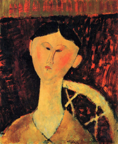 Amedeo Clemente Modigliani Portrait of Beatrice Hastings
