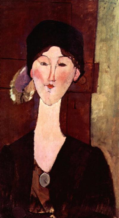 Amedeo Clemente Modigliani Portrait of Beatrice Hastings
