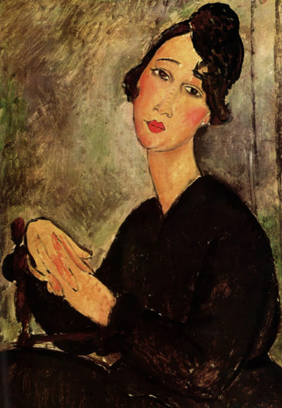 Amedeo Clemente Modigliani Portrait of Dedie