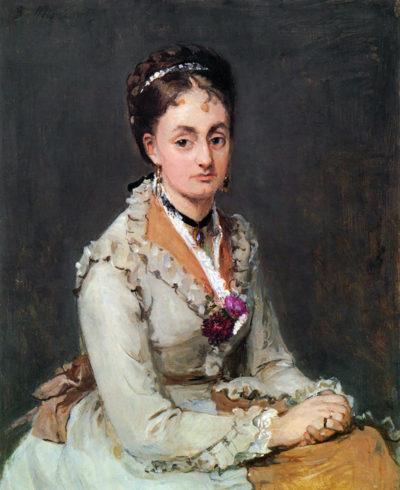 Berthe Morisot Portrait of Edma