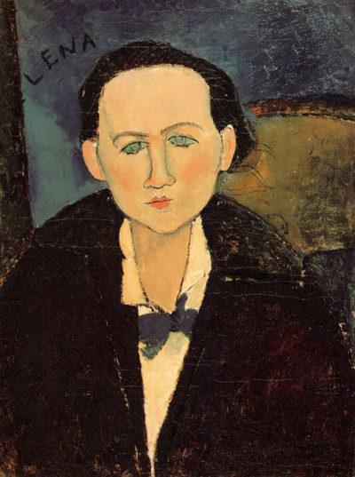 Amedeo Clemente Modigliani Portrait of Elena Pavlowski