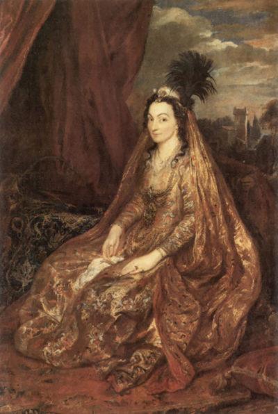 Antoon van Dyck Portrait of Elisabeth Theresa
