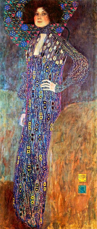Gustav Klimt Portrait of Emily Floge