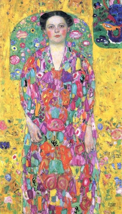 Gustav Klimt Portrait of Eugenia (Mada) Primavesi