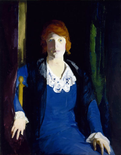 George Bellows Portrait of Florence Pierce