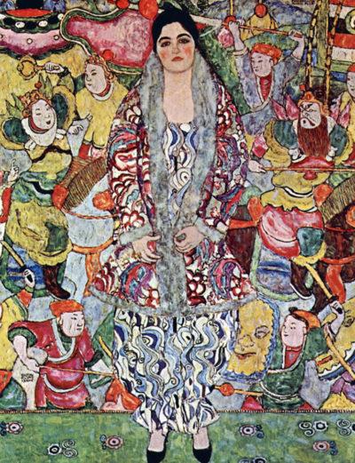 Gustav Klimt Portrait of Frederika Maria Beer