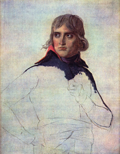 Jacques-Louis David Portrait of General Napoleon Bonaparte