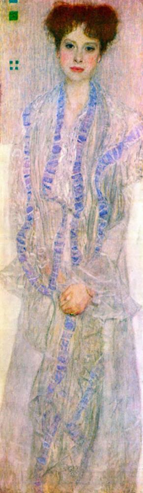 Gustav Klimt Portrait of Gertha Felsovanyi