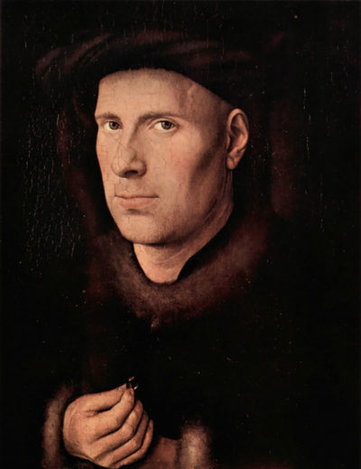 Jan van Eyck Portrait of Jan de Leeuw