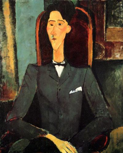 Amedeo Clemente Modigliani Portrait of Jean Cocteau