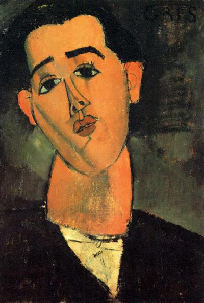 Amedeo Clemente Modigliani Portrait of Juan Gris