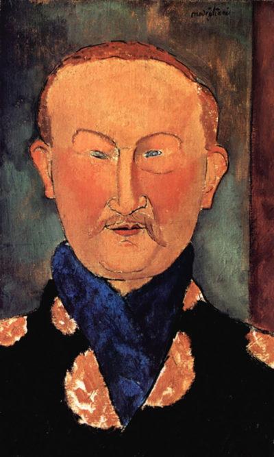 Amedeo Clemente Modigliani Portrait of Leon Bakst