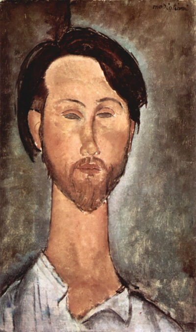Amedeo Clemente Modigliani Portrait of Leopold Zborowski