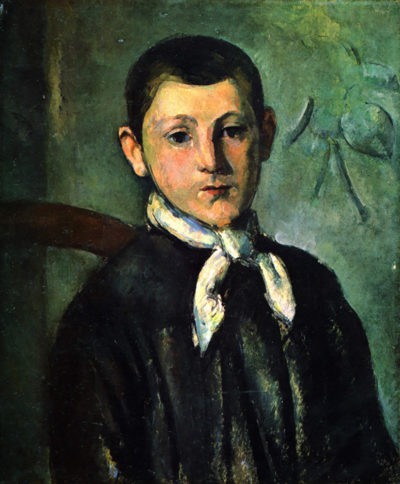 Paul Cézanne Portrait of Lois Guillaime