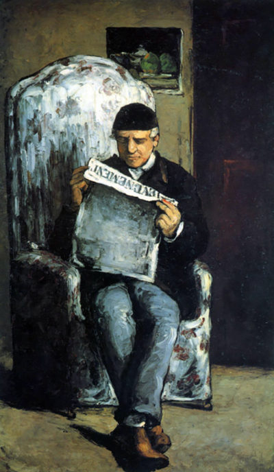 Paul Cézanne Portrait of Louis-Auguste Cézanne