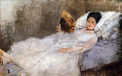 Berthe Morisot Portrait of Madame Hubard
