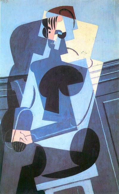 Juan Gris Portrait of Madame Josette Gris