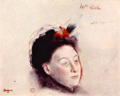 Edgar Degas Portrait of Madame Lisle