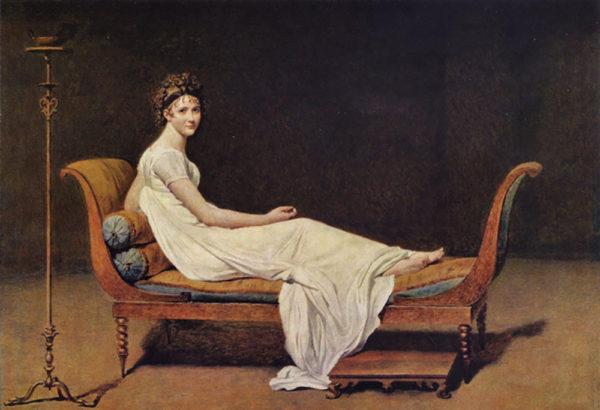Jacques-Louis David Portrait of Madame Récamier