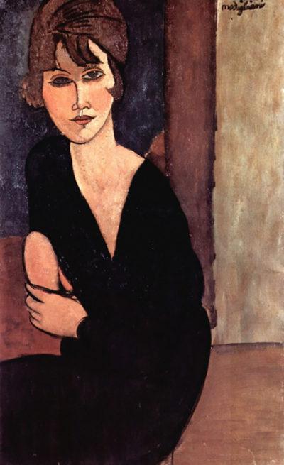 Amedeo Clemente Modigliani Portrait of Madame Reynouard