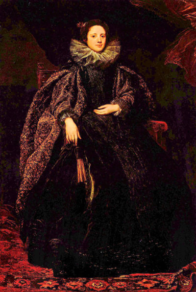 Antoon van Dyck Portrait of Marchesa Balbi