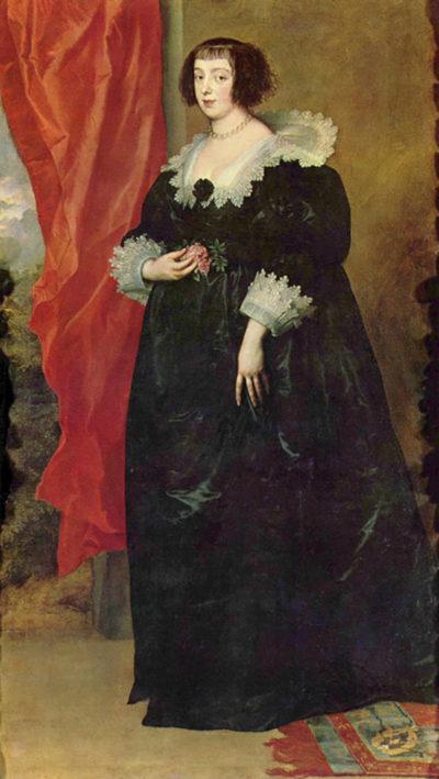 Antoon van Dyck Portrait of Margaret von Lothringen