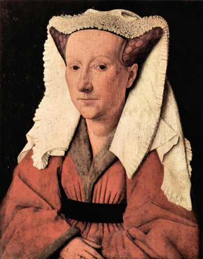 Jan van Eyck Portrait of Margaretha van Eyck