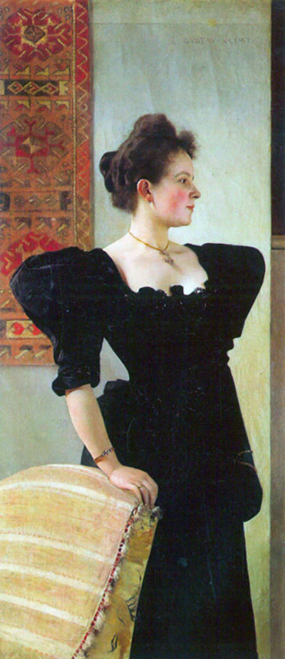 Gustav Klimt Portrait of Marie Breunig